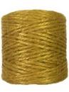 Jutový špagát prírodný 100g - žltý