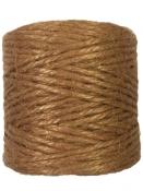 Jutový špagát prírodný 100g - škoricový