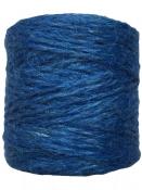 Jutový špagát prírodný 100g - svetlý modrý