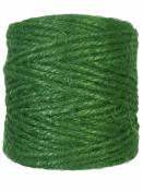 Jutový špagát prírodný 100g - svetlý zelený