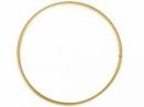 Kovový kruh na lapač snov 10cm - zlatý