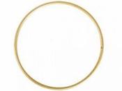 Kovový kruh na lapač snov 25cm - zlatý