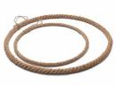Kovový kruh na lapač snov s lanom 25cm - natur