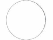 Kovový kruh na lapač snov 60cm