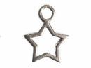 Kovový prívesok - hviezda