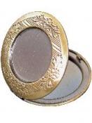 Kovový prívesok - medailón 3,3 cm - okrúhly