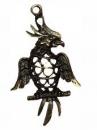 Kovový prívesok 5 cm - papagáj