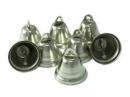 Kovový zvonček 1,6 cm - strieborný