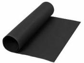 Kožený papier 50x100cm - čierny