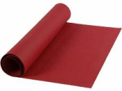 Kožený papier 50x100cm - bordový