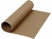 Kožený papier 50x50cm - hnedý