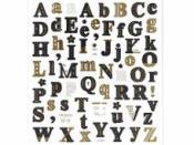 Kreatívne nálepky - abeceda