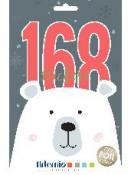 Kreatívne nálepky - kniha - Vianoce - 168ks