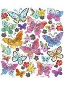 Kreatívne nálepky - motýle