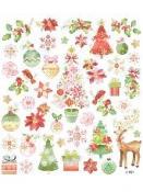 Kreatívne nálepky - romantické Vianoce
