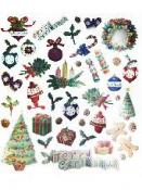 Kreatívne nálepky - Vianoce
