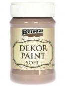 Akrylová vintage farba Dekor Paint - 100 ml - vintage hnedá