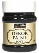 Akrylová vintage farba Dekor Paint - 230 ml - čierna
