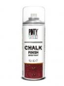 Chalky kriedová farba v spreji - 400 ml - červená