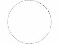 Kovový kruh na lapač snov 30cm