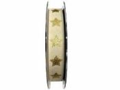 Ľanová vianočná stuha 15mm