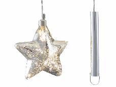 Vianočná svetelná LED dekorácia 15 cm  - hviezda