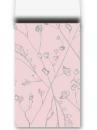 Luxusné papierové vrecúško 12 x 19cm - staroružové