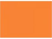 Machová guma MOOSGUMMI - 2mm - svetlá oranžová