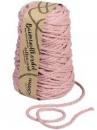 Macramé bavlnený špagát 5 mm - staroružový