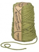 Macramé bavlnený špagát 5 mm - zelený