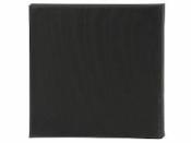 Maliarske plátno - canvas - 30 x 30 cm - čierne