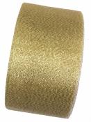Jemná stuha 5cm - zlatá