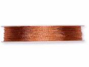 Metalická šnúrka 1 mm - medená