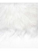 Mikulášska brada 20 x 35 cm - biela