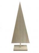 Minimalistický drevený stromček 30cm - natur