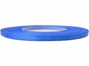 Saténová stuha - 3mm - modrá