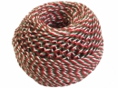 Bavlnený špagát 100m - vianočná trikolóra