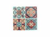 Mozaikové nálepky 12x12cm - 4ks