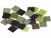 Mozaikové štvorčeky 1cm 25g