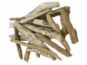 Náplavové aranžérske drievka - 20 ks - natur
