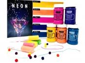 Sada akrylových farieb 5 ks - edícia Neon