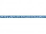 Látková stuha 15mm modrá - písmo