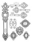 Odlievacia forma - Kľúče Lady Vagabond