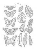 Odlievacia forma - Motýle a listy Amazonia