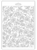 Odlievacia forma A5 - Textúra kvety Van Gogh