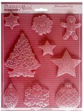 Odlievacia forma - Vianoce