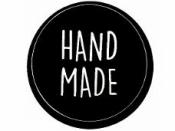 Okrúhla  nálepka 3,5cm - Handmade