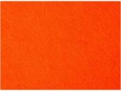 Filc 3 mm - 40x50 cm - oranžový