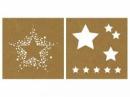 Papierová šablóna 20,3cm - hviezdy