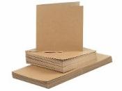 Papierová sada 16 cm - recyklovaný papier